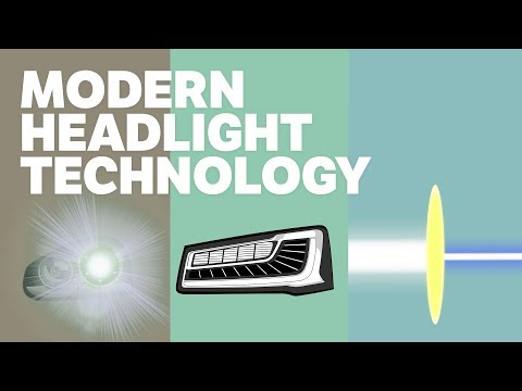 Modern Headlights 101 - Xenon, Matrix, and Laser Lights