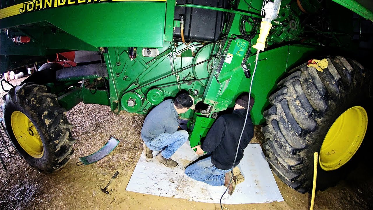 clean-grain-auger-boot-replacement