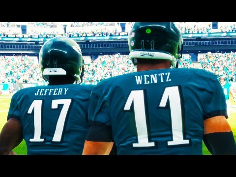 EPIC DIVISION CLASH!! Madden 18 Gameplay - Philadelphia Eagles vs. Washington Redskins (FULL GAME)