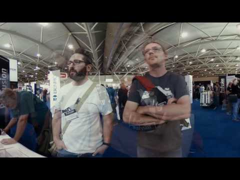 VRTO + FIVARS at ProFusion Expo Oct 5 2016 - 360 Timelapse