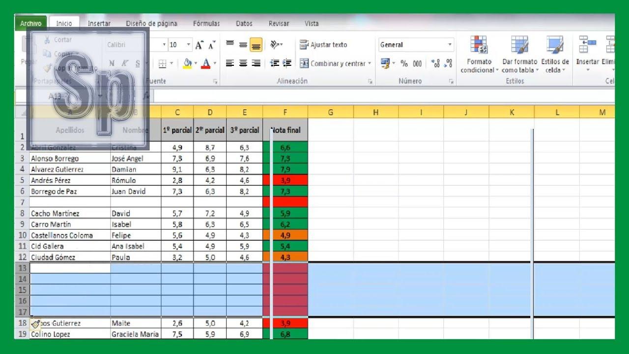 Excel aadir una o varias filas en excel insertar columnas excel aadir una o varias filas en excel insertar columnas tutorial en espaol hd urtaz Gallery