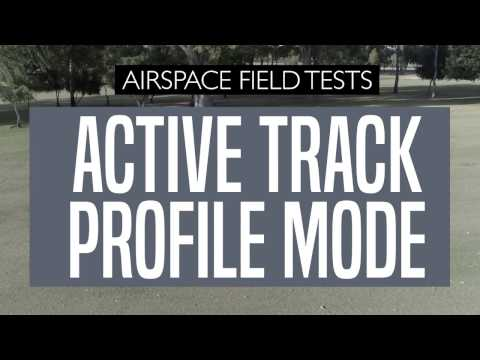 DJI Phantom 4 Professional Active Track Profile Mode - A Quick Handsfree Field Test