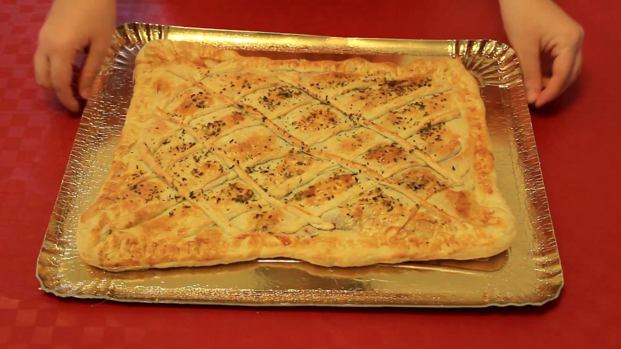 Empanada tipo pizza empanada casera f cil y r pida - Cocina casera facil y rapida ...
