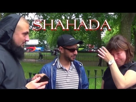FRENCH LADY CRIES AFTER ACCEPTING THE TRUTH | ISLAM | SHAHADA | MUHAMMAD TAWHEED | SPEAKERS CORNER