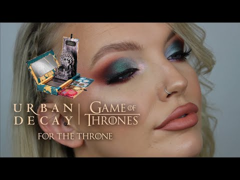 GAME OF THRONES X URBAN DECAY COLLABORATION | MAKEUP TUTORIAL | ELOISE MAE MAKEUP thumbnail