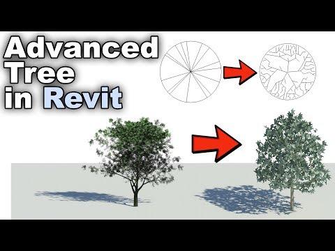 Advanced Tree Family in Revit Tutorial - YouTube