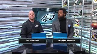 Eagles One-On-One: DE Michael Bennett