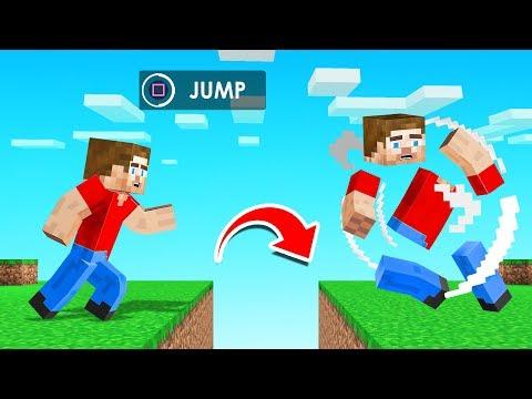 MINECRAFT But JUMPING = EXPLODE!
