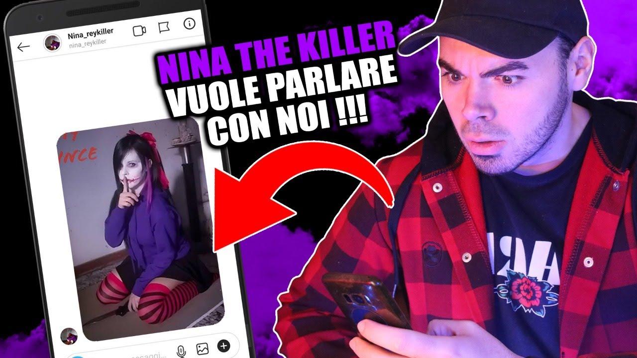 CHATTIAMO CON NINA THE KILLER 💜 LIVE *spaventosa*