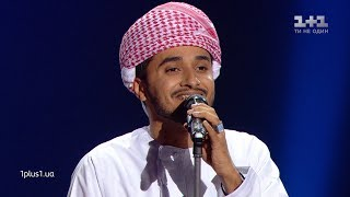 "Haitham Mohammed Rafi - ""Habibi"" - Blind Audition - The Voice of Ukraine - season 9"