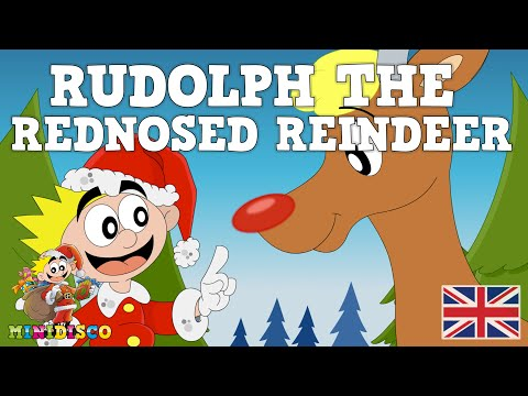 Rudolph The Red Nosed Reindeer  Christmas sgs  Christmas cartos for kids  Minidisco