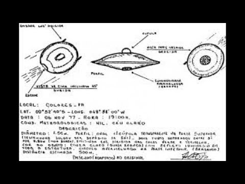The Most Credible/Scariest UFO Sightings In History Over Brazil HD Documentary