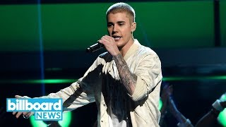 """Justin Bieber Teases Collaboration With Ed Sheeran In Mysterious """"10"""" Caption 