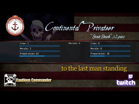 Continental Privateer - to the last man standing