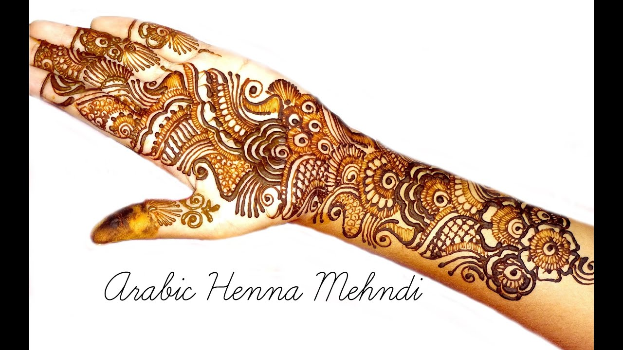 Indian mehndi designs for hands indian hand mehndi designs mehndi - Best Indian Arabic Henna Mehndi Design For Front Hand Naush Artistica