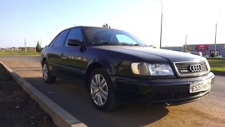 1993 Audi S4. Start Up, Engine, And In Depth Tour.