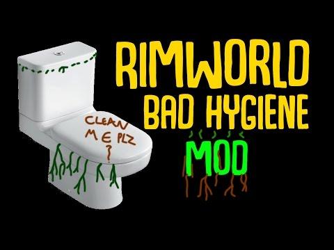 Rimworld Mod Guide: Bad Hygiene Mod By Dubwise! Rimworld Mod Showcase