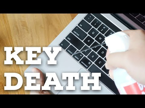 My MacBook Pro finally suffered KEY DEATH