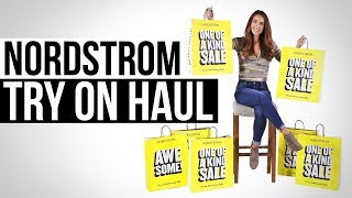 TRY ON HAUL - NORDSTROM ANNIVERSARY SALE 2018!!!