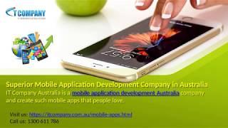 Avustralya'da üstün Mobil Uygulama Geliştirme Şirketi