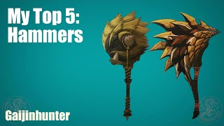 MH4U: My Top 5 Hammers