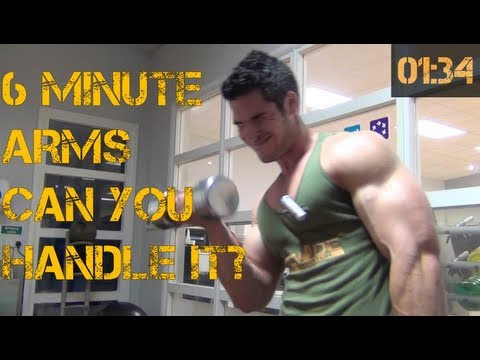 6 Minute Bicep Blaster - CAN YOU HANDLE IT??