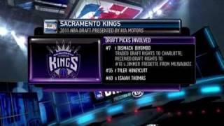 NBA Draft 10th Overall Jimmer Fredette Sacramento Kings