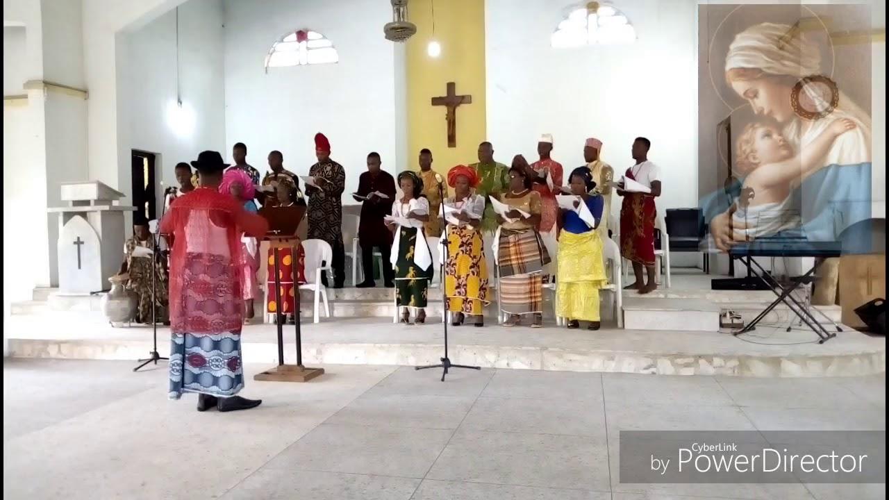 Download EKENE MARIA by Rev. Fr. Dominic Igwe performed by MACDIWA