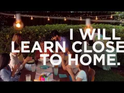 Valencia College - I Will Learn Close to Home (Home)