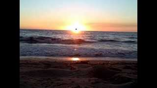 Magical Sunset Ocean Meditation in Redondo Beach, California