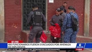 Descartan amenaza de bomba por paquete sospechoso en sede del INPEC