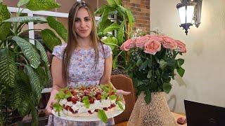 Отмечаем День Рождения Оли Готовим вкусный торт и лимончелло