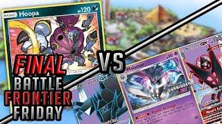 FINAL BATTLE! Attacking Hoopa vs Malamar/Necrozma Pokemon TCG Matchup | Battle Frontier Friday #50