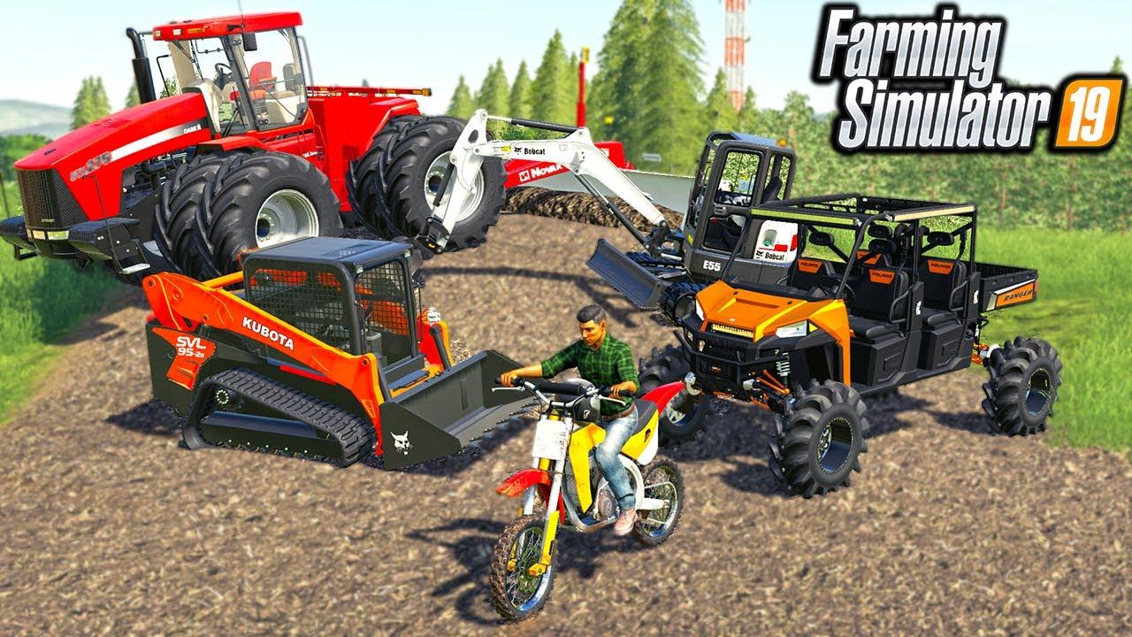 RENOVATING AN OLD MOTOCROSS TRACK! | (ROLEPLAY) FARMING SIMULATOR 2019