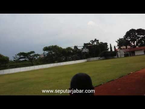 Panglima TNI Jenderal TNI Gatot Nurmantyo Mendarat di Lap.Sesko TNI