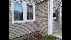 Home Inspection Boston MA Shows Vinyl Siding Damage | (617) 202-3919 | Call Us!