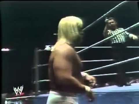 hulk hogan vs ted dibiase hogans debute 1979 youtube
