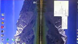 Компьютер.Как перевернуть изображение.(, 2014-04-11T22:03:31.000Z)