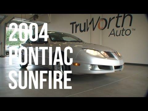 2004 Pontiac Sunfire - Clean CARFAX - CD Player - TruWorth Auto