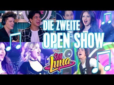 SOY LUNA  🎵 Die zweite Open Music Show 😍   Disney Channel Songs