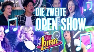 SOY LUNA  🎵 Die zweite Open Music Show 😍 | Disney Channel Songs