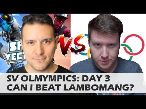 MRTV SPRINT VECTOR OLYMPIC CHALLENGE: DAY 3 - CAN I BEAT LAMBOMANG?