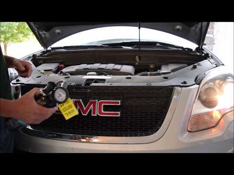 GMC Acadia Air Conditioning Recharge DIY Car Repair