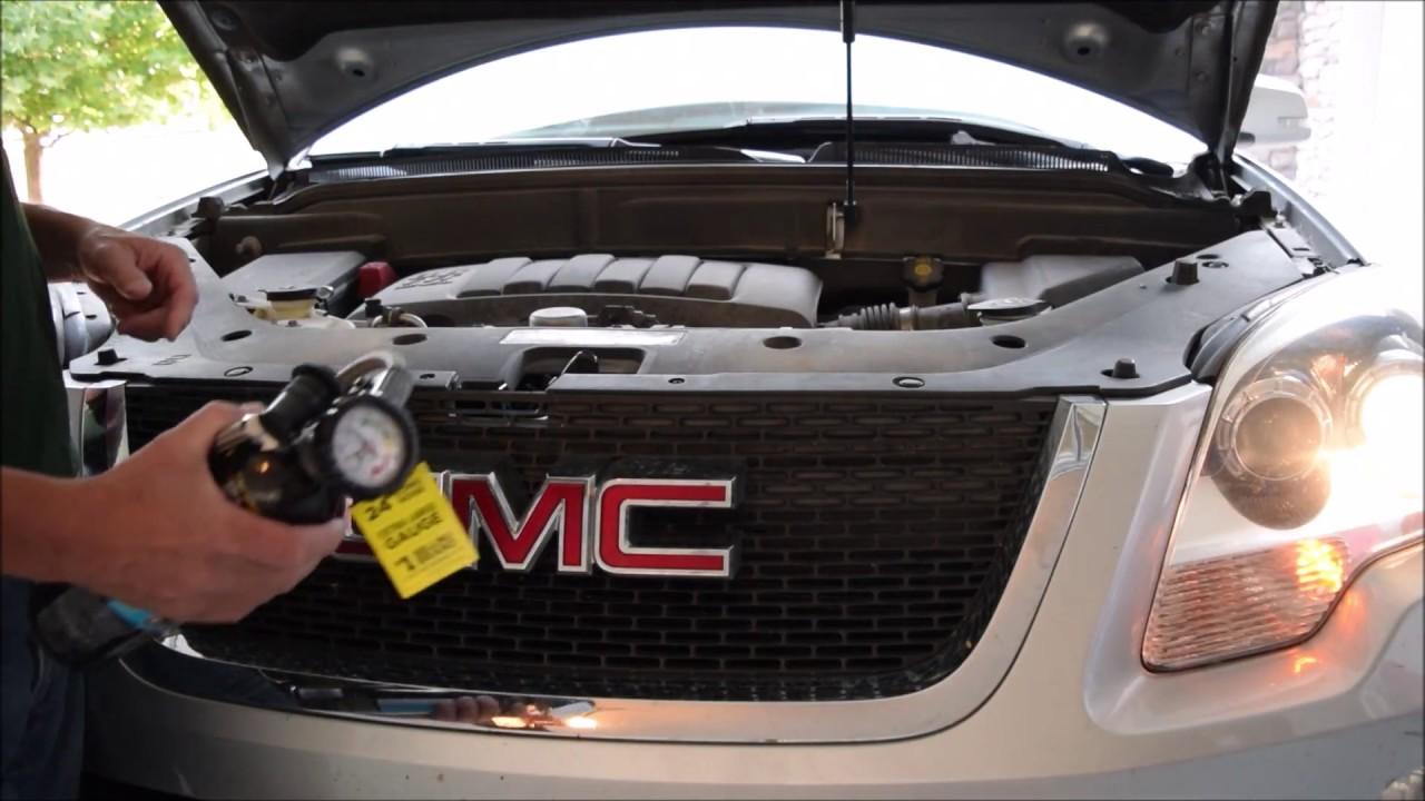 GMC Acadia Air Conditioning Recharge DIY Car Repair