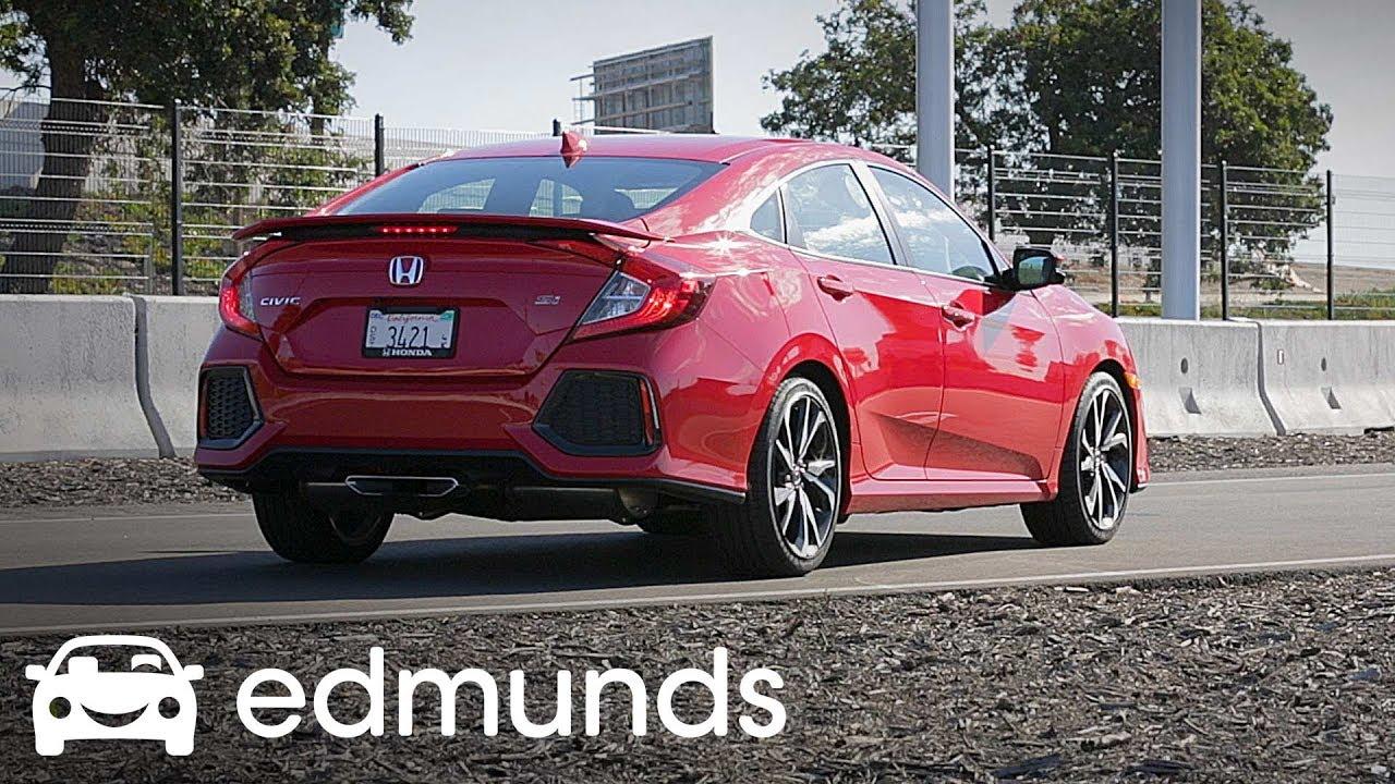 2017 Honda Civic Si Review Track Test Edmunds