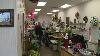 Many Florists Deliver Flowers Despite Winter Weather