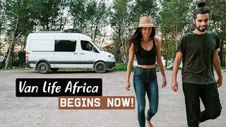 SHIPPING OUR VAN TO AFRICA | preparing for van life morocco