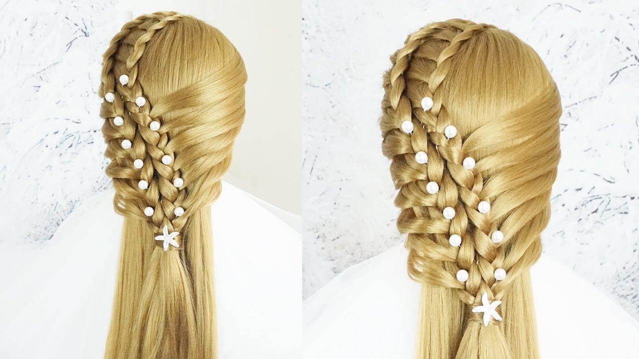 Cách Tết Tóc Đẹp Nhất Trên Thế Giới – Cách Thắt Tóc Đơn Giản Mà Đẹp   Braid Hairstyle Tutorial