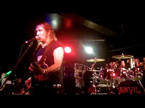 ANVIL, Jackhammer, Glasgow 23/06/11