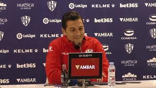Rueda de prensa de Francisco Rodríguez. Previa del SD Huesca - Deportivo Alavés (15/03/2019)